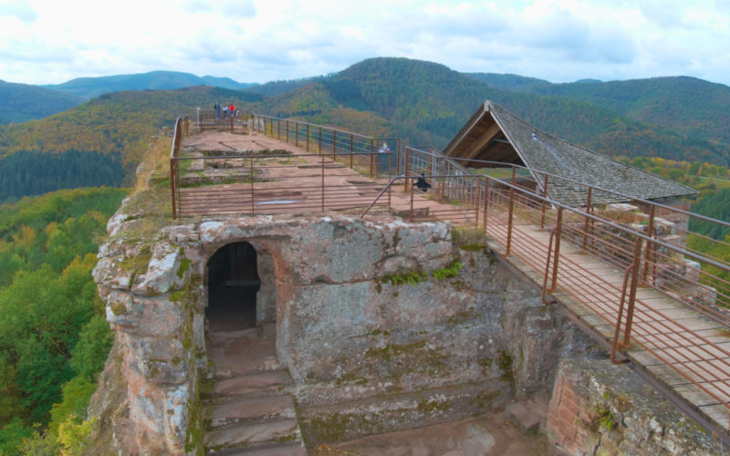 Le château de Fleckenstein en Alsace