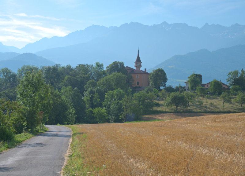 Le château de la Veyrie à Bernin