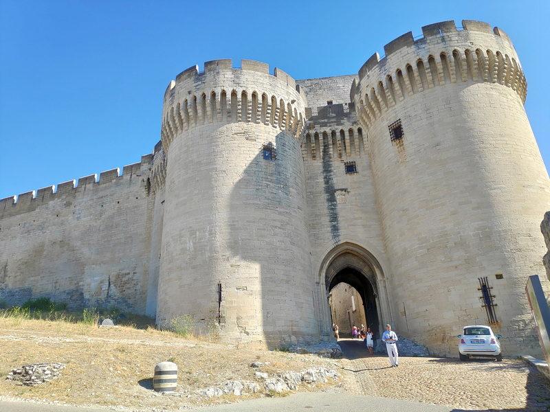 Entrée du Fort Saint-André
